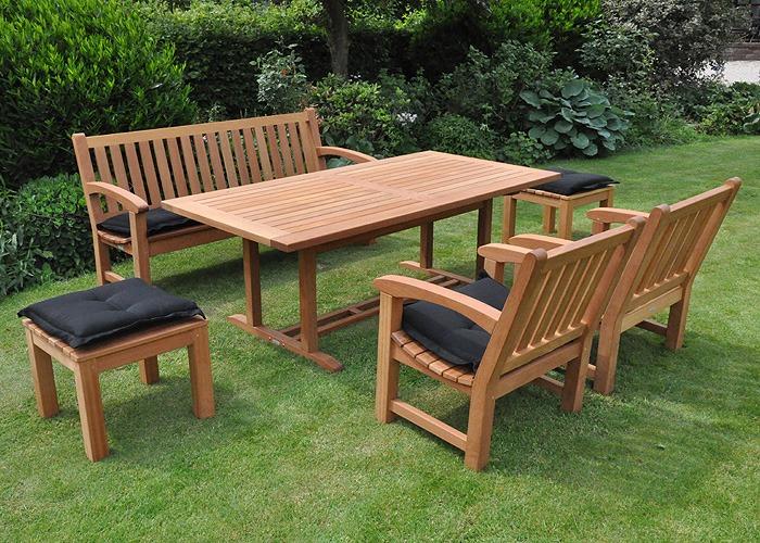 houten tuinset FSC gecertificeerd