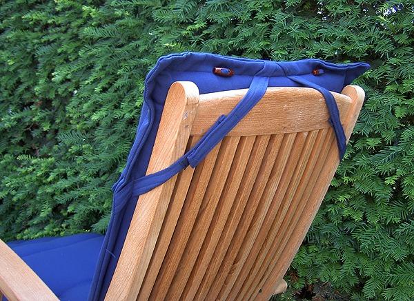 deckchairkussens blauw,. topkwaliteit