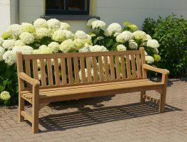 Engelse tuinbanken van teakhout