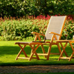 Gelfort tuinstoelen van hout