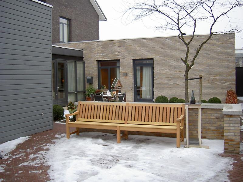 houten tuinbank van 300 cm lang