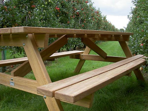 picknicktafels van FSC hard hout