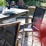 rvs stapelstoelen, roestvrijstaal frame met weerbestendige bekleding