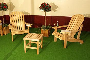 vierkant tafeltje van ceder hout tuinmeubelen