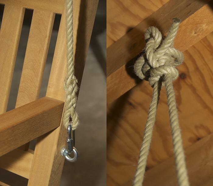 touwen voor schommelbank
