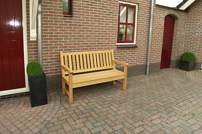 tuinbank van FSC hard hout, 155cm lang