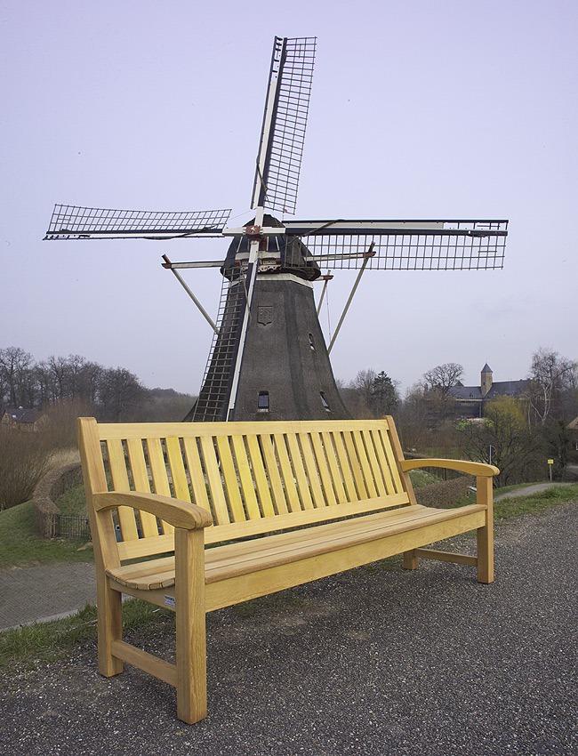 tuinbanken van FSC gecertificeerd hard hout, made in Holland