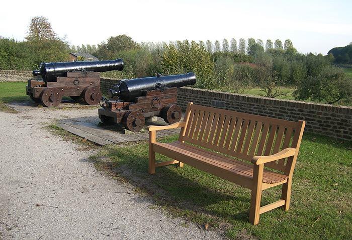 tuinbanken van hardhout voor projecten