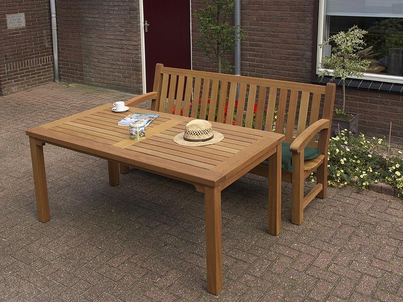 Vermeer tuintafel fsc hard hout