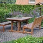 Rembrandt tuintafels en tuinbanken van hout, FSC gecertificeerd