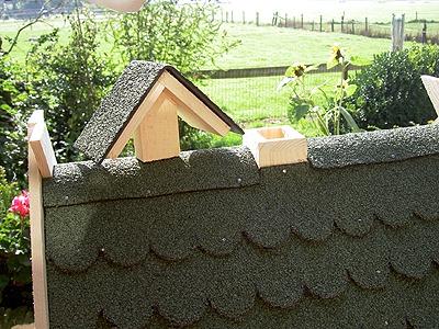 voederhuisjes voor vogels met silo