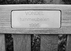 vondel tuinmeubelen bestaat sinds 1995